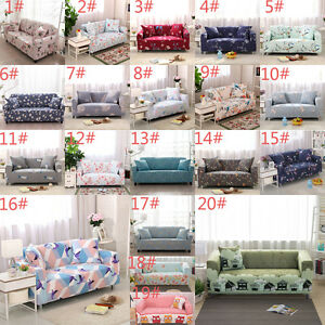 Image Is Loading Washable Stretch Sofa Covers Chair Cover Couch