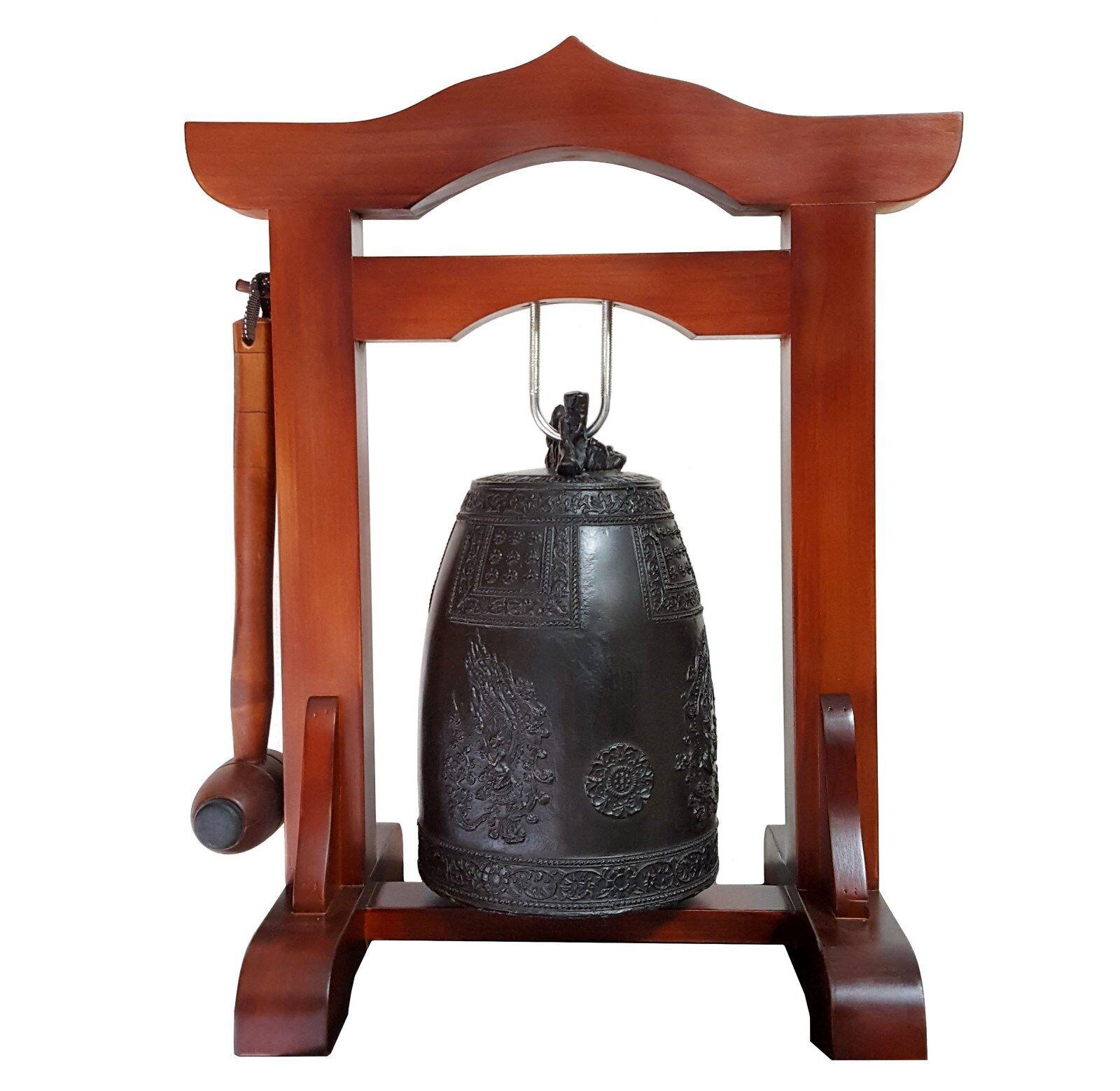KOREAN BUDDHIST TEMPLE BELL  BUMJONG   BRONZE BELL INDOOR TEMPLE BELL 1KAN   1