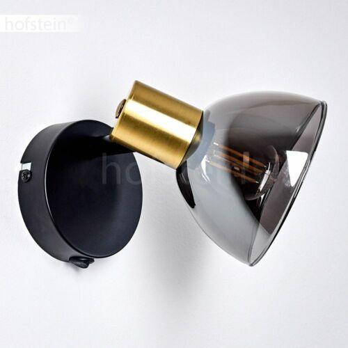 Messing//schwarz Flur Strahler Wand Lampen Schalter Wohn Schlaf Zimmer Leuchten