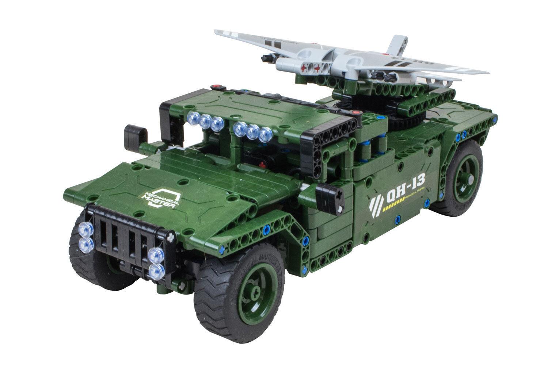 Teknotoys active bricks bricks bricks RC vehículos aéreos no tripulados militar-transportador-konstruktionsbaukasten con edce68