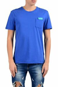Versace Collection Men/'s Bright Blue Short Sleeves Polo Shirt Sz S M L XL 2XL
