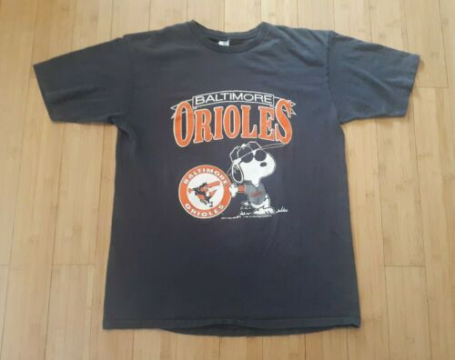 Vintage Baltimore Orioles Snoopy Shirt 80s 1980s V