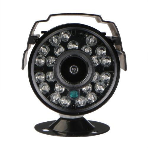 4x Waterproof IP66 24IR-Leds Night Vision HD Surveillance Home CCTV Security Cam