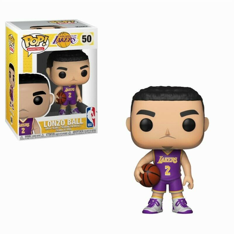 Lonzo Ball NBA L.A. Los Angeles Lakers POP  Basketball Vinyl Figur Funko