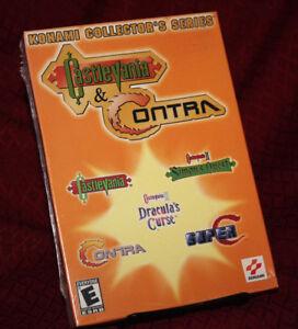 Konami Collector's Series Castlevania Contra NEW SEALED Windows PC