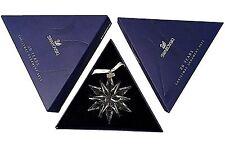 Swarovski 2011 Christmas Star / Snowflake - Mint, with both boxes