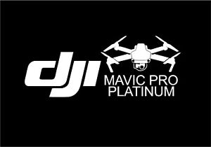 Image Is Loading DJI Mavic Pro Platinum Drone Decal Sticker Free
