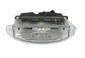 Genuine-Renault-Clio-MK2-II-Rear-Number-Plate-Light-Unit-Part-Number-7700410754