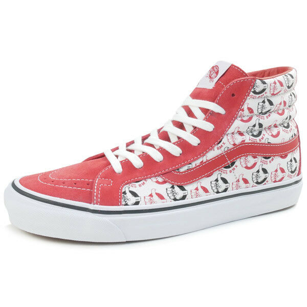 NEIGHBORHOOD  VANS OG SK8-HI LX sneaker RED US 11
