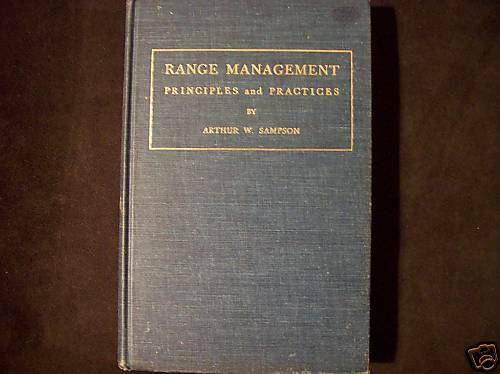 Range Management by Arthur W. Sampson