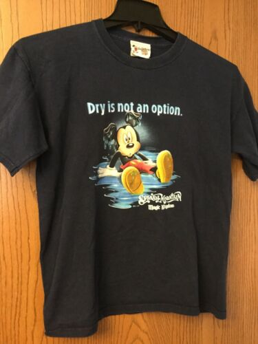 "Splash Mountain - Disney Shirt.  ""Dry Is Not An Op"