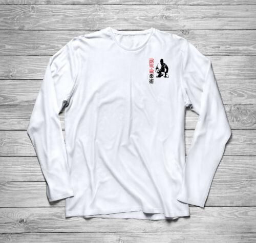 Jiu Jitsu Martial Arts MMA Fighter Long Sleeve T-Shirt size S-3XL