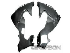 2006 - 2007 Kawasaki ZX10R Carbon Fiber Lower Side Fairings - 1x1 plain weaves