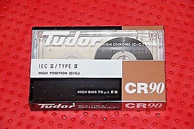 SEALED 1 TUDOR  CR  90  BLANK CASSETTE TAPE