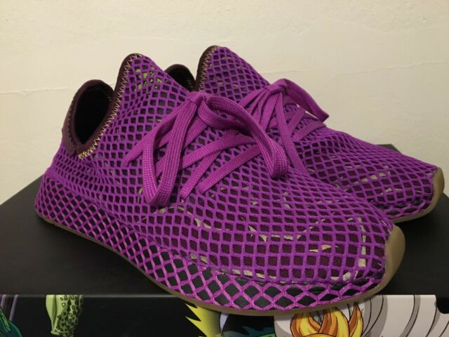 34b4fc6edee83 NEW Adidas Dragon Ball Z 9 Son Gohan Deerupt Runner D97052 DBZ SHOCK PURPLE  GOKU