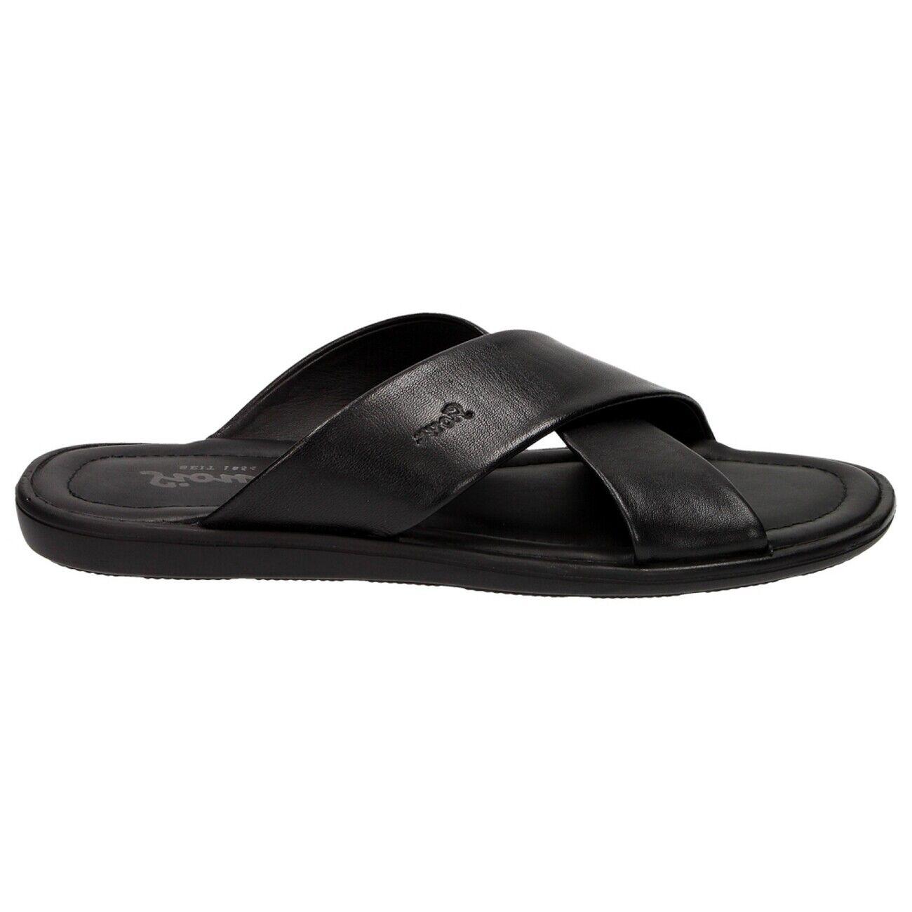 Sioux minago negro caballeros-sandalia es 30880