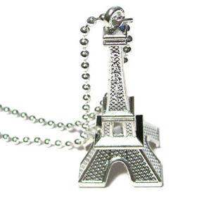 EIFFEL-TOWER-Silver-Pendant-Charm-Necklace-Heart-Love-Paris-France-French