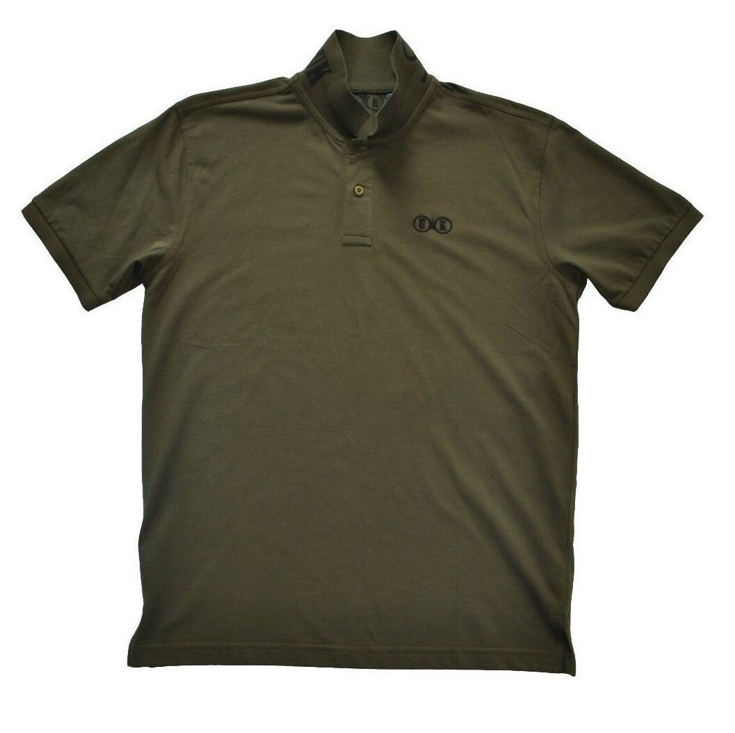 Smokeless UK NO.2 Mens Olive Green Polo Shirt. Shooting & Country Clothing