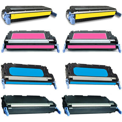2 PK Q6472A Yellow Toner Cartridge for HP Color LaserJet 3600 3600dn 3600n