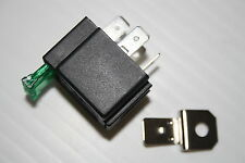 SPOT LAMPS / AIR HORN 12V 4 PIN Relay 30AMP Fused with Bracket
