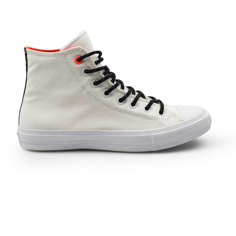 Converse Chuck Taylor All Star II Shield Hi Counter Climate White Mens Trainers