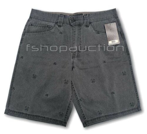 887288983313 Space Oakley Mens 32 Nero taglia Denim Fade Pantaloncini Invader Walkshort Casual BxPCqCw