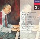 Rachmaninov: Piano Concertos Nos. 1 - 4 [1970-71 Recording] (CD, Oct-1995, 2 Discs, London)