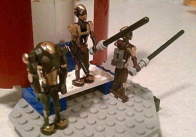 Lego Star Wars Custom Citadel Training Droids B1 /& Super