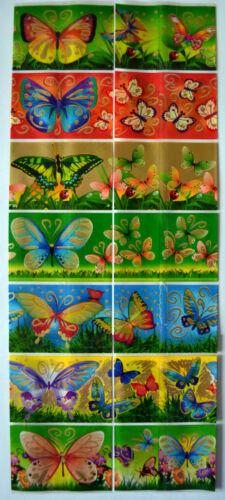 THERMAL SHRINK SLEEVES 14 EASTER EGG WRAPS SLEEVES Beautiful BUTTERFLIES