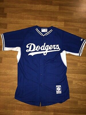 info for 3fba7 341e5 Yasiel Puig Los Angeles Dodgers Authentic Majestic MLB Jersey (Away) | eBay