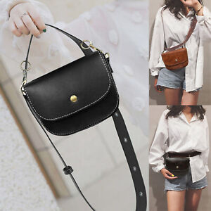 Women-PU-Leather-Waist-Fanny-Packs-Belt-Bags-Girls-Phone-Pouch-Chest-Handbags