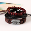 Fashion-Men-Women-Handmade-Genuine-Leather-Bracelet-Braided-Bangle-Wristband-Set miniatura 22