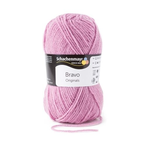 08343 - 50 G//aprox Bravo de Schachenmayr-lila Rosa 133 M de lana