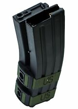 AIRSOFT 1200Rd DUAL ELECTRIC WINDING MAG  MAGAZINE FOR M AEG's  BLACK