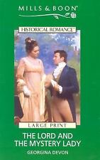 Lord and the Mystery Lady (Mills & Boon Historical Romance)-ExLibrary