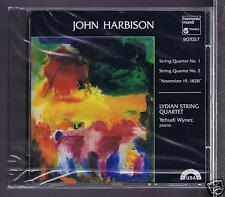 JOHN HARBISON CD NEW STRING QUARTET 1. 2 / THE LYDIAN STRING QUARTET