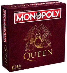 Monopoly-Queen-Spiel-Brettspiel-Gesellschaftsspiel-englisch