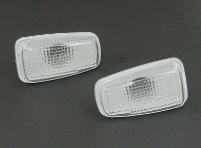 PEUGEOT 406 1995-2003 CLEAR SIDE REPEATERS 1 PAIR