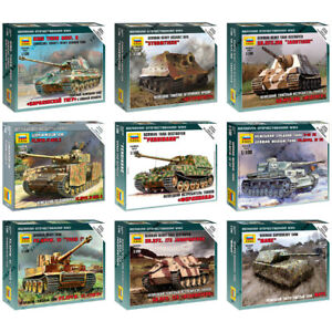 ZVEZDA-Model-Kits-034-German-Tanks-amp-Motorized-Forces-1939-1945-WWII-034-Part-2