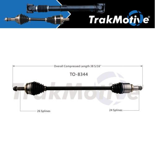 Surtrack 1PC FRONT RIGHT Cv Axle Shaft For 2012-2017 Toyota Prius V VIN EU 7th