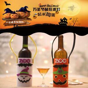 Halloween-Wine-Bottle-Bag-Candy-Bag-Handle-Halloween-Party-Decor-J