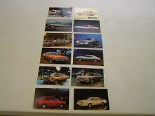 NOS Ford 1980 1981 Post Card Set Mustang Thunderbird LTD Granada Pinto Truck +