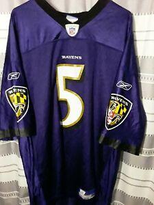 Baltimore Ravens Joe Flacco #5 Jersey Sz 2XL Reebok On Field | eBay