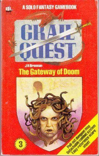 1 of 1 - Grail Quest: Gateway of Doom Bk. 3 (A Solo fantasy ..., Brennan, J.H. 0006924034