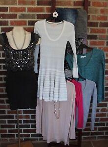 8ee11762944e3 12-Piece Womens Sz 1   XS Clothing   Accessory Lot Hollister ...