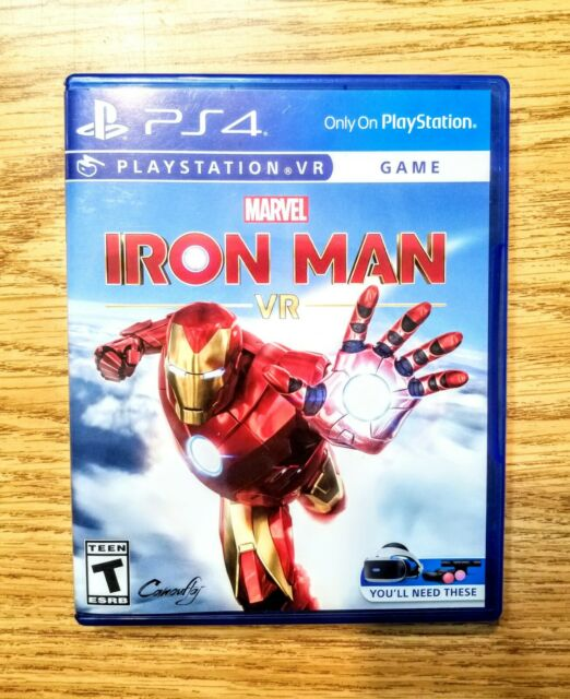 Marvel's Iron Man VR -- Sony PlayStation 4  (2020) **FREE FAST SHIPPING**