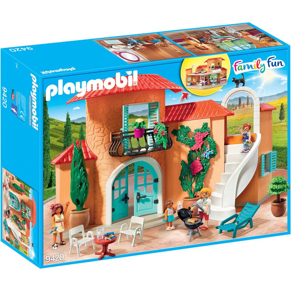 PLAYMOBIL  Famiglia Diverdeente Estate Villa Playset 9420  spedizione veloce a te