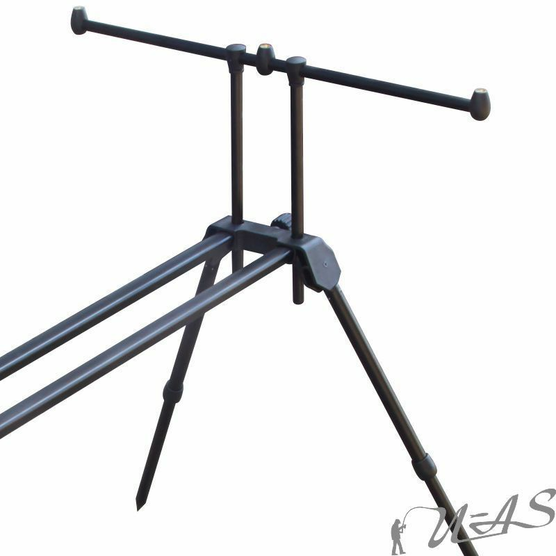DELTA FISHING 3 in 1 1 1 ROD POD HIGH POD 4 BEIN RUTEN STÄNDER RUTEN HALTER KVA 6a0006