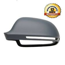 For Audi A5 07-09 Right Driver side Flat Electric wing mirror glass with plate