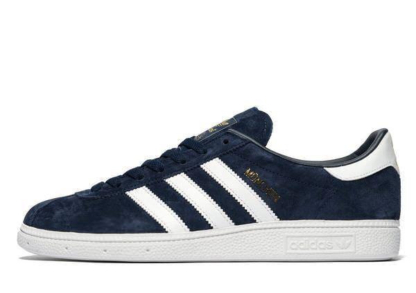Dernière Adidas Originals Munchen Sneaker Hommes (//US 7.5) Bleu Bleu Bleu EntièreHommes t neuf dans sa boîte | En Ligne Outlet Store  | D'arrivée Nouvelle Arrivée  | Paquet Solide Et élégant  2ef745